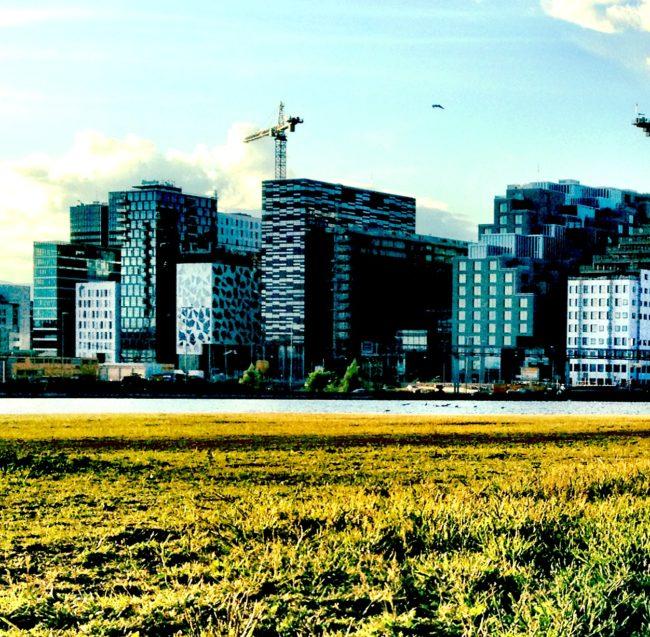 V Oslu rostou mrakodrapy jako houby po dešti