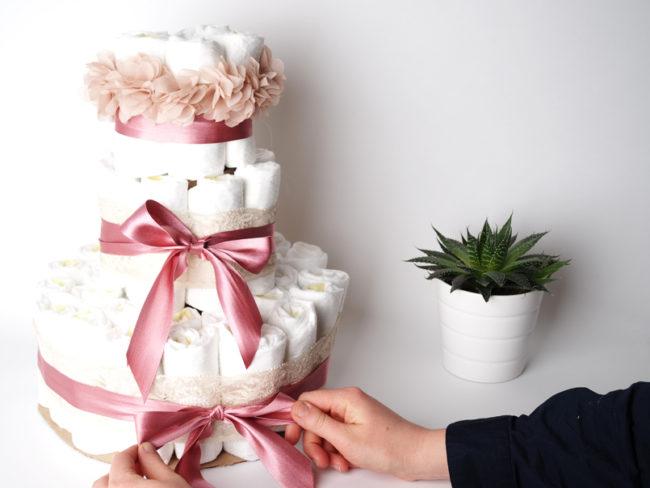 DIY Plenkový dort