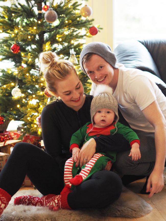 Naše první Vánoce ve třech byly…